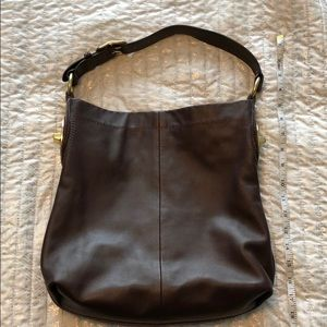 Coach Brown Leather Bag/Purse